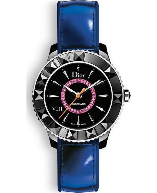 DIOR VIII CD1235E7A001 Blue Leather 33mm