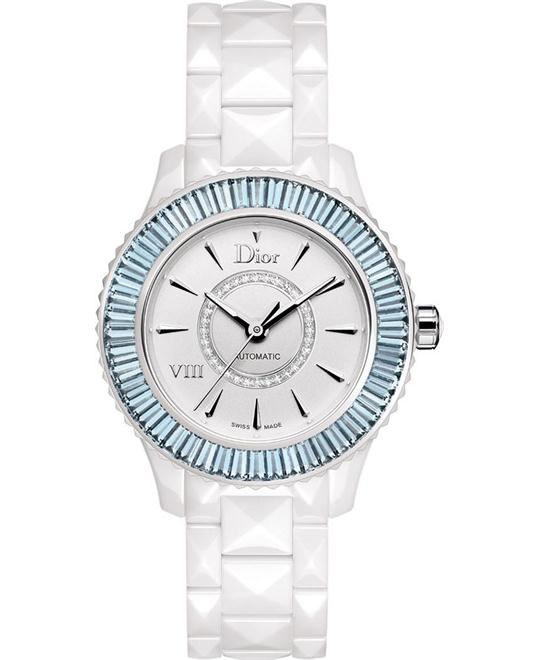 DIOR VIII CD1235F8C001 Diamonds Watch 33mm