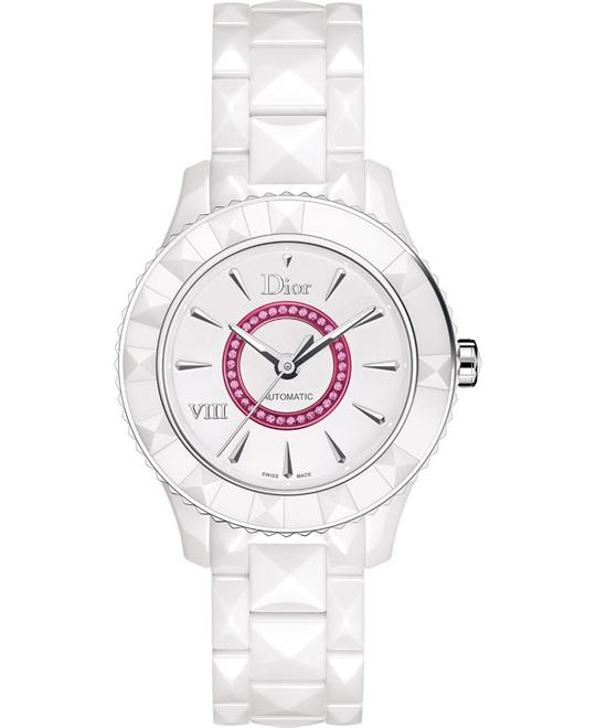 Christian Dior VIII CD1245EFC001 Ceramic Watch 38mm