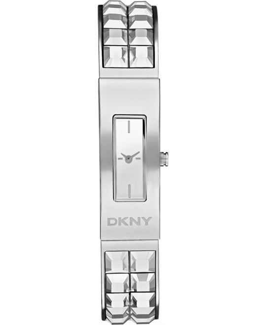DKNY Beekman Silver Ladies Watch 13x33mm