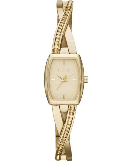 DKNY CROSSWALK Gold Women's Watch 28mm