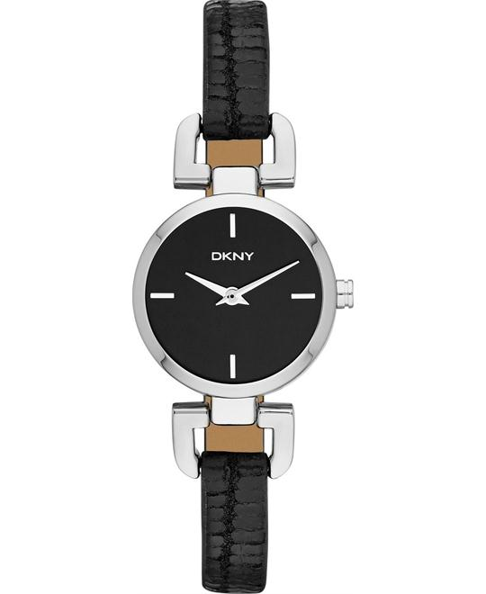 DKNY Watch, Women's Black 24mm