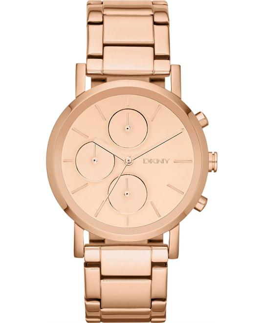 DKNY Watch, Women's Chronograph Rose Gold, 38mm