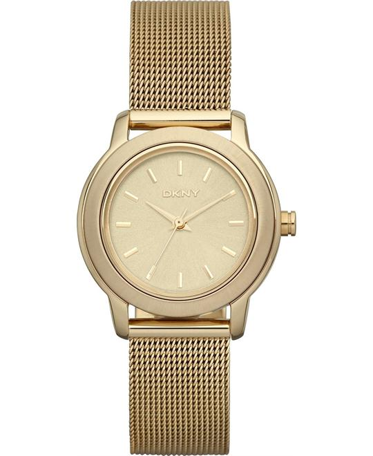 DKNY Watch, Women's Gold Ion 28mm