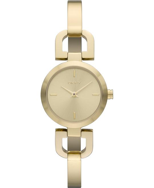 DKNY Watch, Women's Gold-Tone 24mm