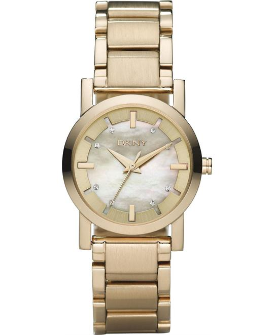DKNY Women's Gold-Tone Watch 28mm