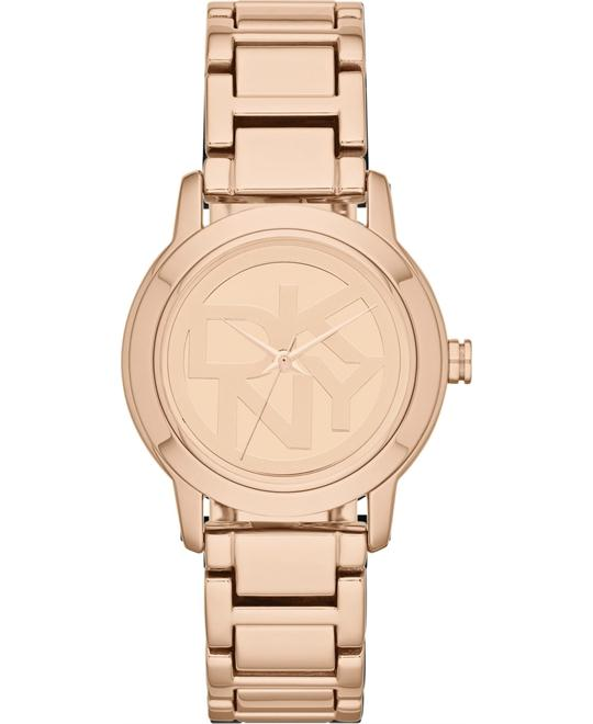 DKNY Watch, Women's Rose Gold Ion, 32mm