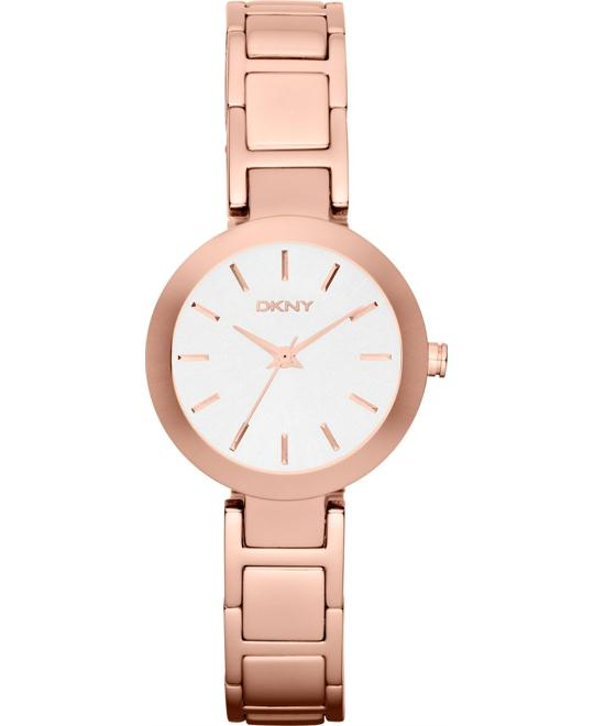DKNY Watch, Women's Rose Gold-Tone, 28mm