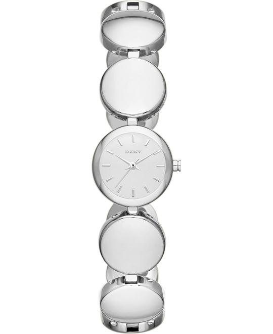 DKNY Watch, Women's Silver-Tone 20mm