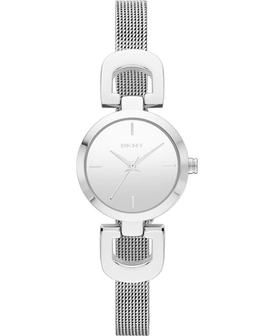 DKNY Watch, Women's Silver-tone, 24mm
