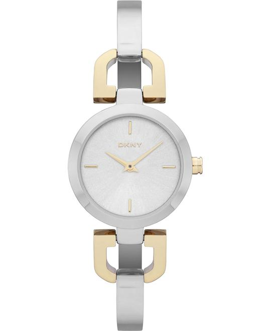DKNY Watch, Women's Two-Tone, 24mm