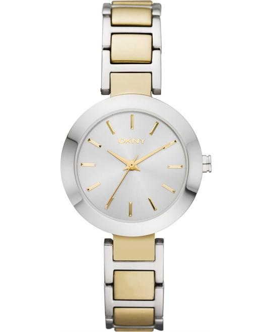 DKNY Watch, Women's Two-Tone 28mm