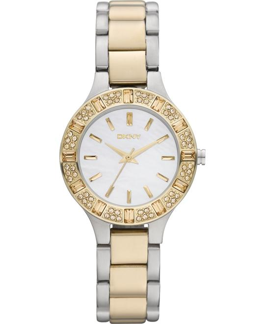 DKNY Watch, Women's Two-Tone, 30mm