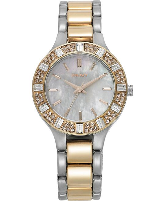 DKNY Watch, Women's Two-Tone 30mm