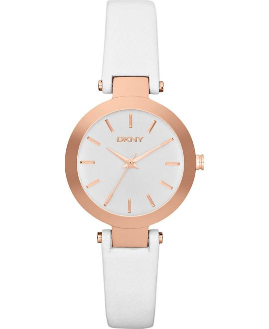 DKNY Watch, Women's White, 22mm