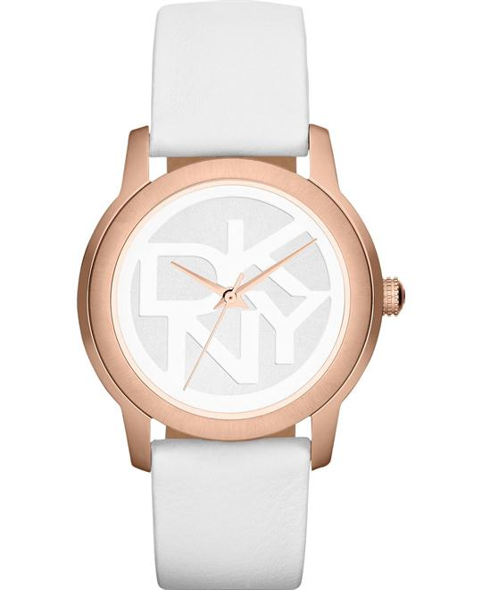 DKNY Watch, Women's White  38mm