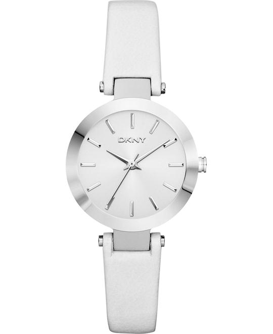 DKNY Watch, Women's White, 28mm