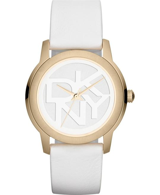 DKNY White Sport Round Women's watch, 38mm
