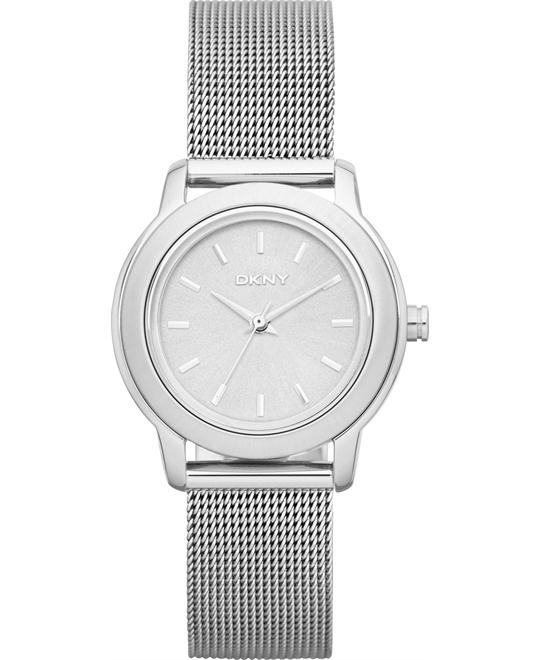 DKNY Women's Tompkins Mesh Bracelet Watch 28mm