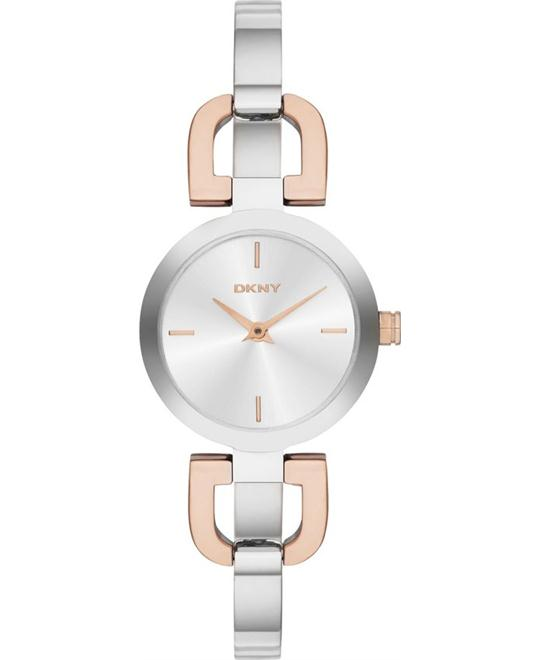 DKNY Women's Two-Tone Watch 24mm