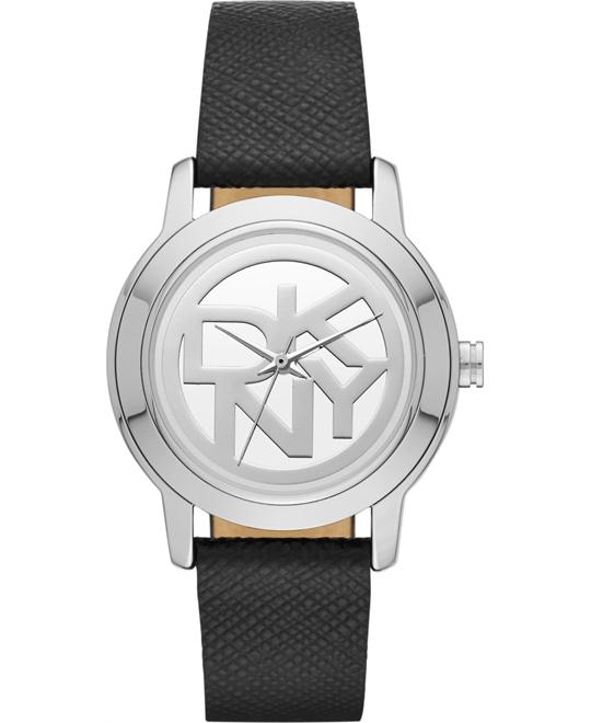 DKNY Women's Black Watch 32mm