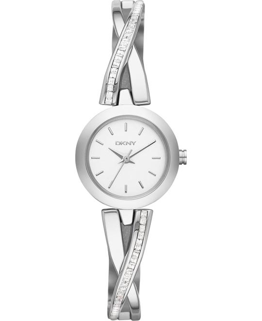 DKNY Women's Crosswalk Crystal Watch 20mm