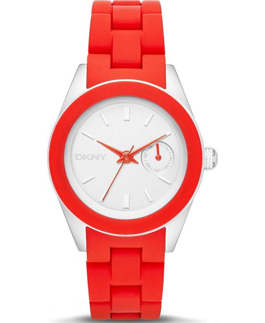 DKNY Women's Nolita Pulse Silicone Watch 36mm
