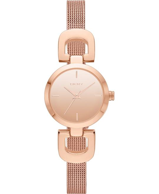 DKNY Women's Rose Gold-Tone Watch 24mm