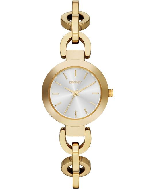 DKNY Women's Sasha Gold-Tone Watch 28mm