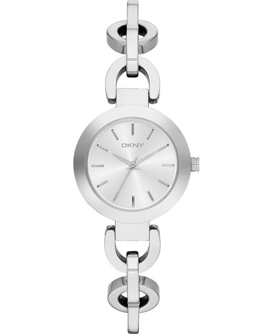 DKNY Women's Silver-tone Watch 28mm