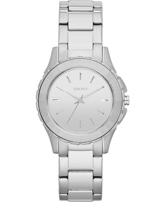 DKNY Women's Silver-tone Watch 32mm