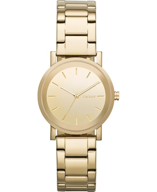DKNY Women's Soho Gold-Tone Watch 32mm
