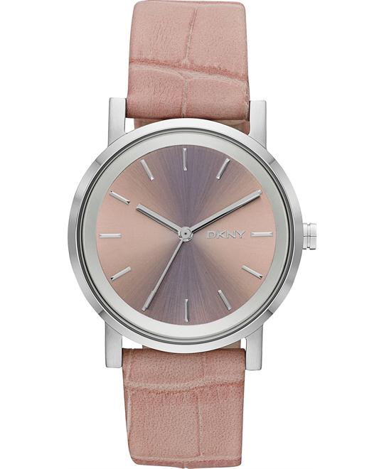 DKNY Women's Soho Pink Watch 34mm