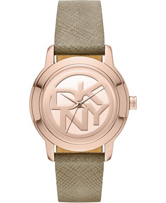 DKNY Women's Tompkins Gray Watch 32mm