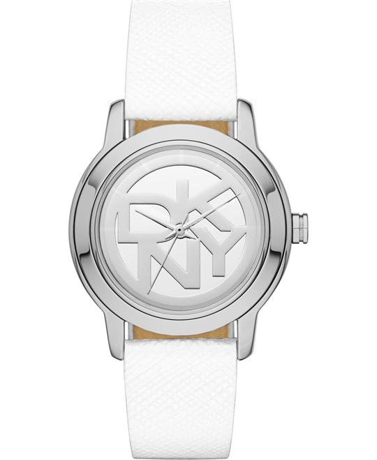 DKNY Women's White Watch 32mm