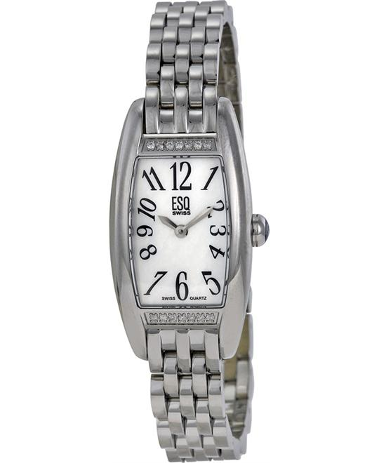 ESQ MOVADO Cassandra Stainless Steel Ladies Watch 22mm