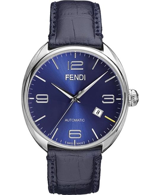 FENDI F200013031 AUTOMATIC BLUE DIAL MEN'S WATCH 42MM