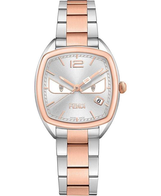 FENDI MOMENTO F223236400D1 DIAMOND WATCH 32MM