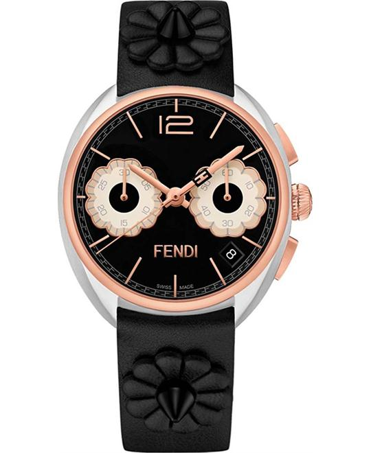 FENDI MOMENTO F235211411 FLOWERLAND WATCH 34MM