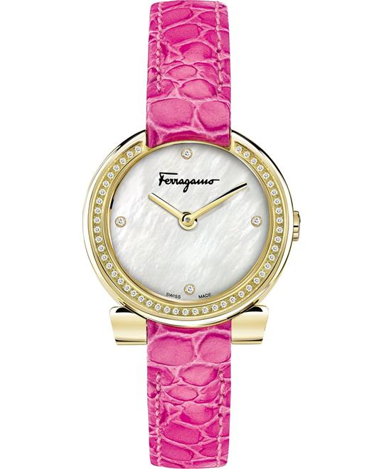 FERRAGAMO Gancino Evening Mother of Pearl 30mm
