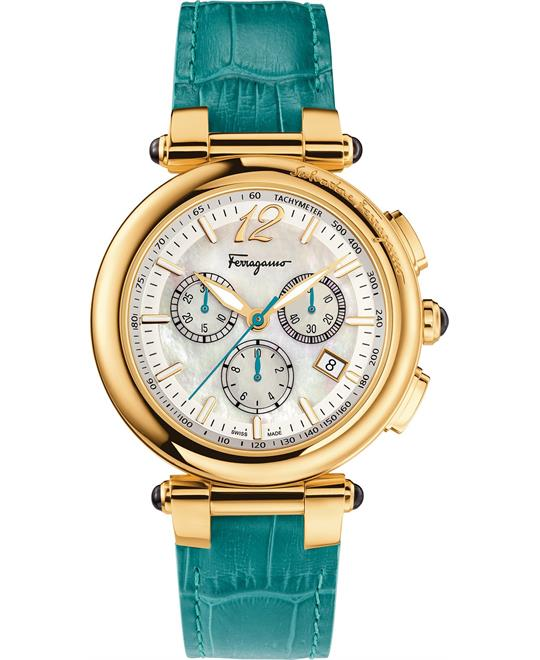 Salvatore Ferragamo Idillio Turquoise Watch 42mm
