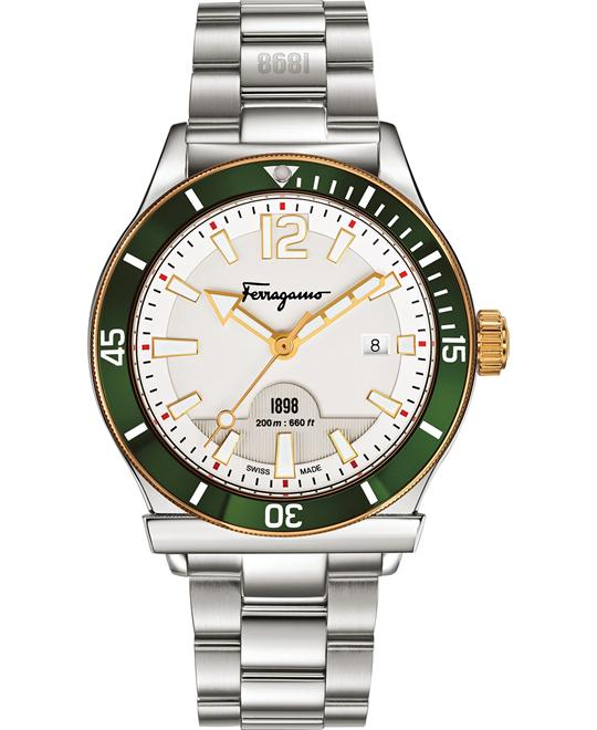 Salvatore Ferragamo 1898 Swiss Men's Watch 43mm