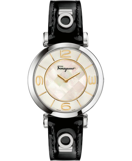 Salvatore Ferragamo Gancino Dèco Swiss Watch 39mm