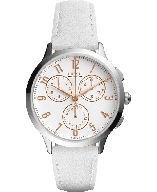 FOSSIL Abilene Ladies Chronograph Watch 34mm