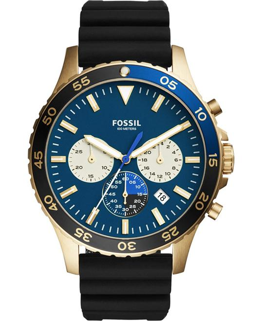 Fossil Chronograph Crewmaster Watch 46mm