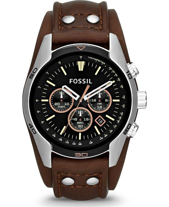 FOSSIL Coachman Chronograph Watch 44MM