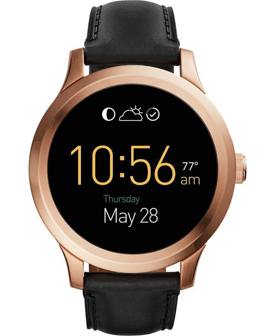 Fossil Gen 1 Smartwatch - Q Founder Black Leather 47mm