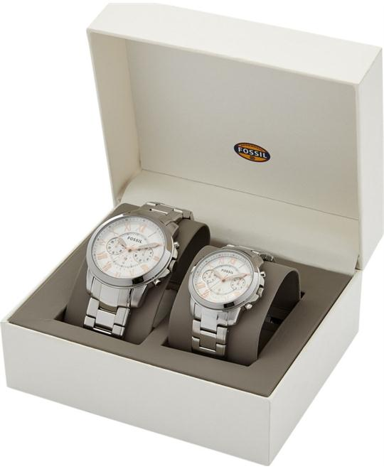 FOSSIL GRANT BOX SET Watch 45-38mm
