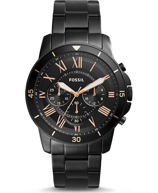 đồng hồ Fossil Grant Sport Chronograph Black Watch 44mm