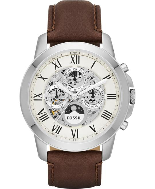 FOSSIL Grant Brown Men's Watch 45mm